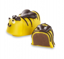 Moonstruck Milk Chocolate Honey Bee Truffle