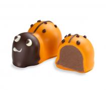 Moonstruck Milk Chocolate Orange Ladybug Truffle