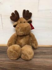"""Moose hugs 10"""" plush moose"""