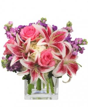 More Than Words... Flower Arrangement in Chicago, IL | THE ENCHANTED GARDEN FLORIST