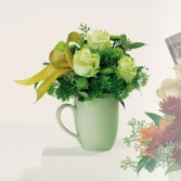 Morning mist mixed bouquet