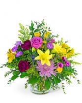 Morning Sky Flower Arrangement