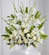 Morning Stars Arrangement all white