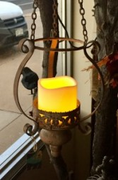Moroccan Lantern With LED Candle Gift Item