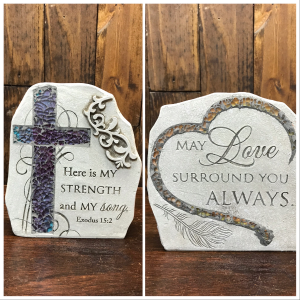 Mosaic Garden Plaques  in Yankton, SD | Pied Piper Flowers & Gifts