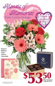 Mosaic of Memories Value Combo Gift Set ~ Local Delivery Only