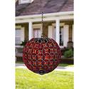 Mosaic Solar Orb Red