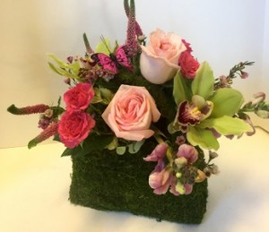 Moss Pocketbook  in Northport, NY | Hengstenberg's Florist