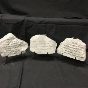 Mother, Mom, Tears small keepsake stone