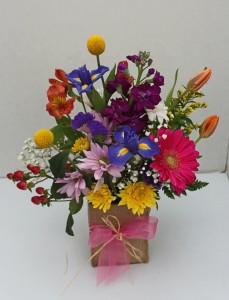 Mother Nature's Garden Fresh flower arrangement