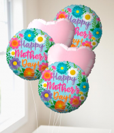 Mother's Day Balloon Bouquet Mylar Balloons