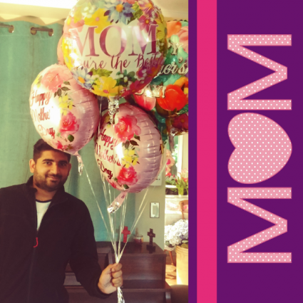 Mothers Day Balloon Mylar
