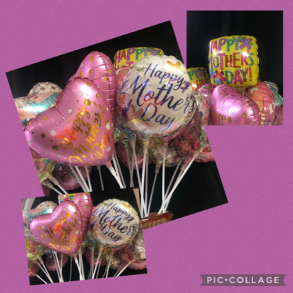Mother's Day Balloons  Stick Balloon