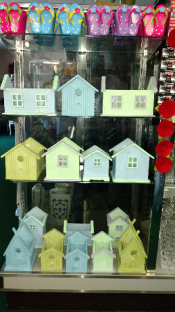 Mother's Day Bird Houses Filled With Beautiful Mixed Flowers