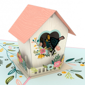 Mother's Day Birdhouse 3D card