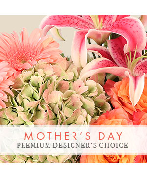 Mother's Day Bouquet Premium Designer's Choice in Highmore, SD | Amber Waves Floral & Gifts