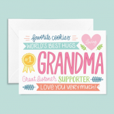 Mother's Day Card - #1 Grandma