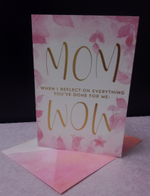 Mother's Day Card Reflection