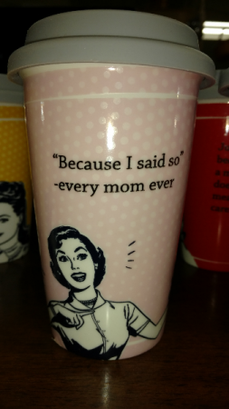 Mother's Day ceramic coffee cups Mother's Day full of life
