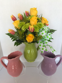 Mothers Day Ceramic Water Pitcher