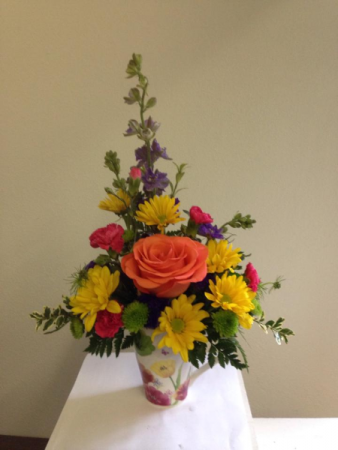 Mother's Day coffee mug Flower Arrangement