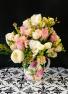 Crazy about you Baby!! 2 Dozen Premium Mixed  Rose's... Vase Arrangement in 1 Dozen, 1 1/2 or 2 Dozen (shown)