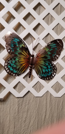 Mother's Day Colorful Metal Monarch Butterfly