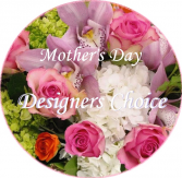 Mother's Day Designer's Choice Bouquet Wrapped Bouquet