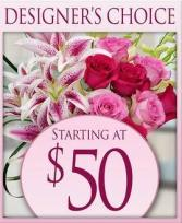 Mother's Day Designers Choice Arrangement