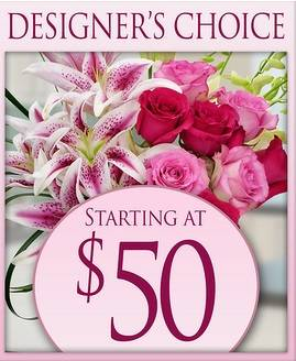 Arrangement for Mother's Day Designers Choice