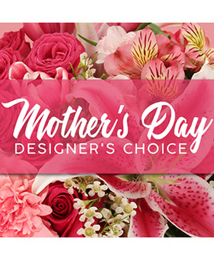 Mother's Day Designer's Choice Flower Arrangement in Corrigan, TX | SadieAnn's Floral Designs