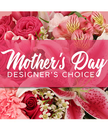 Mother's Day Designer's Choice Flower Arrangement