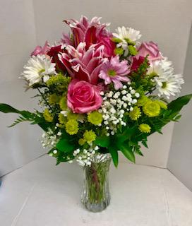 ADORATION Elegance on Crystal Vase