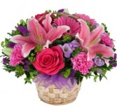 Mother's Day Flower Basket