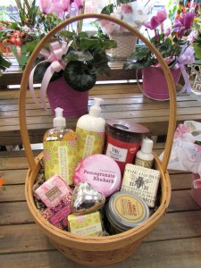 Pamper Me Basket of Goodies Custom Fitzgerald Flowers Basket in La Grande, OR | FITZGERALD FLOWERS
