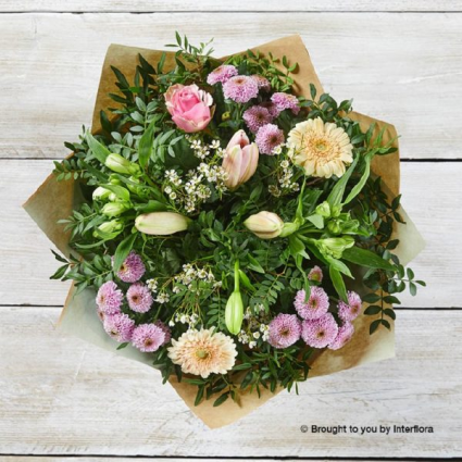 Mother's day hand tied bouquet loose fresh-cut Designer's choice Bouquet.