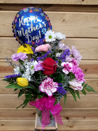 Mothers Day Mix W/Balloon