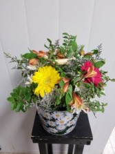 Mothers Day-Mom's Pot of Posies Delivery available on Mother's Day