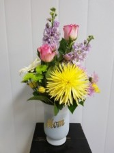 Mothers Day-Mom's the word Delivery available on Mother's Day