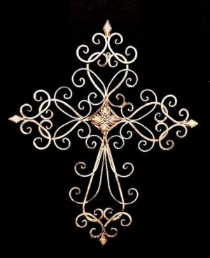 Spiritual Cross Ornate in Plainview, TX | Kan Del's Floral, Candles & Gifts