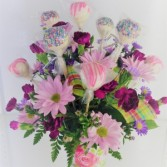 Mother's Day Pops & Posies Sweet Blossoms
