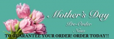 Mother's Day pre orders Flowers