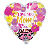 mothers day singing balloon