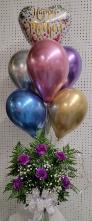 Mothers Day Special #4 Flower and balloons