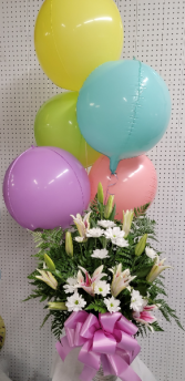 Mothers Day Special #5 Flower and balloons