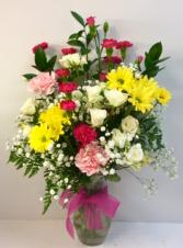 Spring Mixed Vase