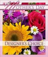 Enchanted Mother's Day Spring Bouquet During this time of COVID19 we ask that you allow our designer's to create a beautiful bouquet with the lovely flowers we have available at this time. Thank you!