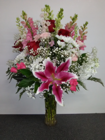MOTHERS DAY SPECIAL NO 1 ROSES, LILIES