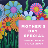 Mother's Day Special  Spring Mix Bouquet