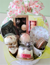 Mother's Day Sweet Thoughts Basket Sweet Blossoms